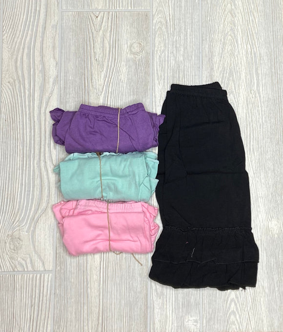 Ruffled Legging Bottoms (Shorts) - Shoppe3130