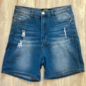 BBA Medium Blue Shorts - Plus - Shoppe3130