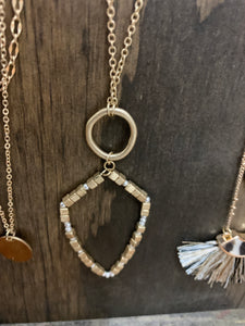 Arrow Drop Necklace - Shoppe3130