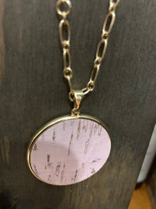 Pink Distressed Circle - Shoppe3130
