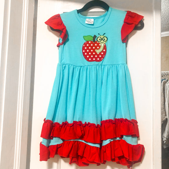 Girls Book Worm Dress