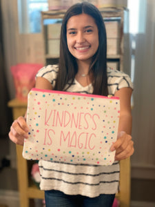 Kindness is Magic Zipper Pouch