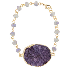 Purple Rayne Bracelet - Shoppe3130
