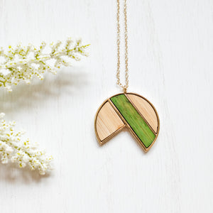 Packman Wooden Necklace - Shoppe3130