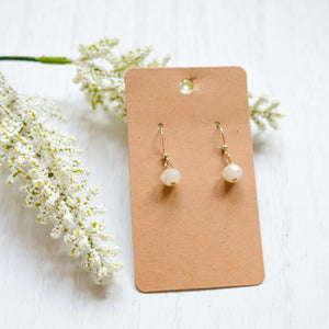 Natural Drop Earrings - Shoppe3130