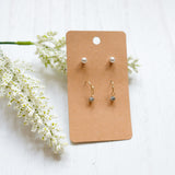 Stud Set of 2- Earrings - Shoppe3130