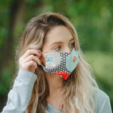 Double Layer Cotton Face Mask- Child and Adult Sizes