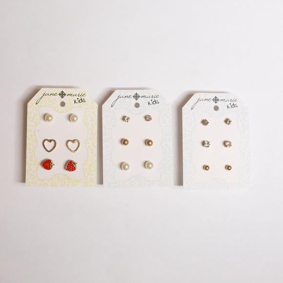 Girls Stud Earring Set - Shoppe3130
