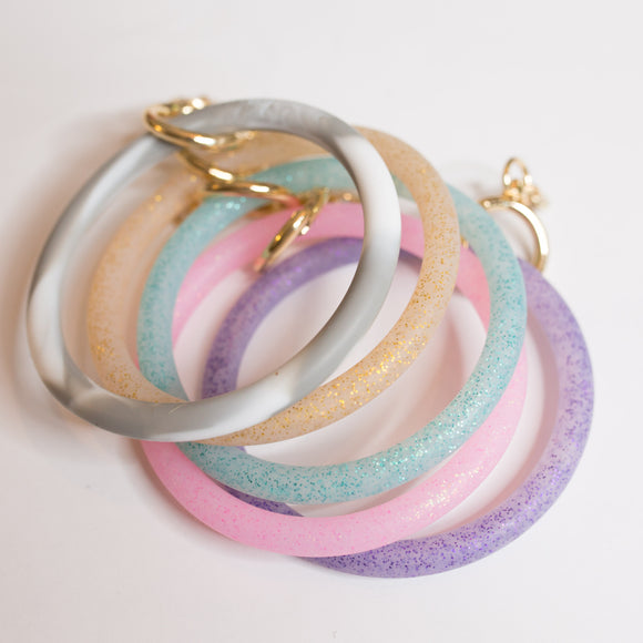 Silicone Keychain Bangle - Shoppe3130