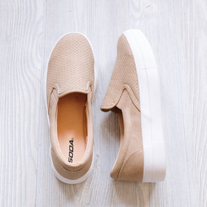 Taupe Soda Sneakers