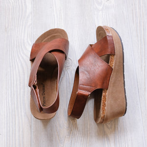 Chantal Leather Wedges - Shoppe3130