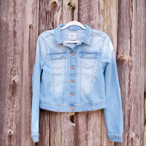 Light Denim Jacket - Shoppe3130