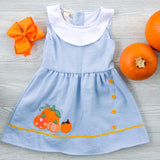 Girls Pumpkin Patch Dress