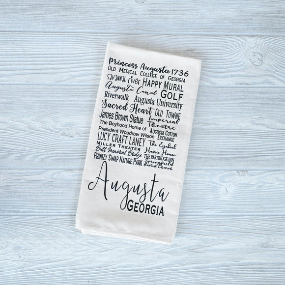 Augusta Tea Towels - Shoppe3130