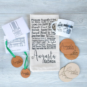 Wooden Augusta Coasters - Shoppe3130