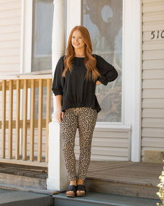 YMI Leopard Denim - Shoppe3130