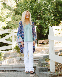 White Cello Denim Flares - Shoppe3130