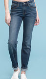 Judy Blue Dark Cuff Denim - Shoppe3130