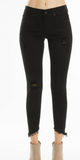 Black KanCan Ankle Skinny Denim - Shoppe3130