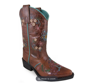 Florence Brown Western Boots - Shoppe3130