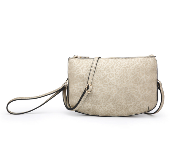 Vegan Two Compartment Crossbody/clutch