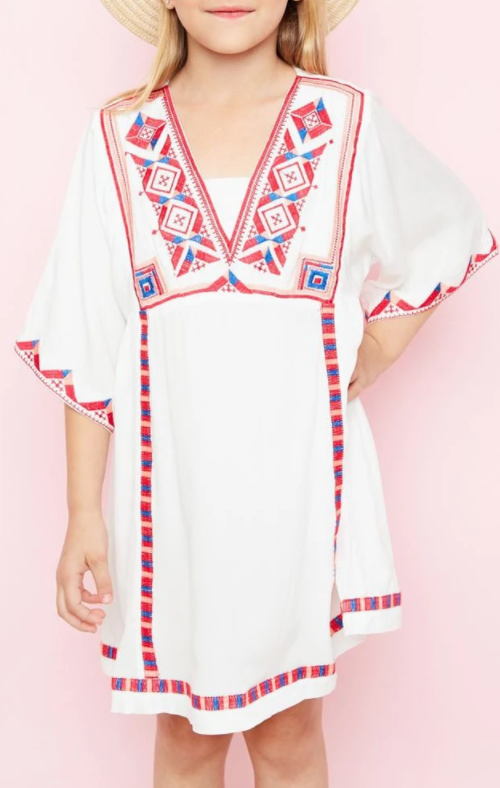 Hayden White embroidered Dress