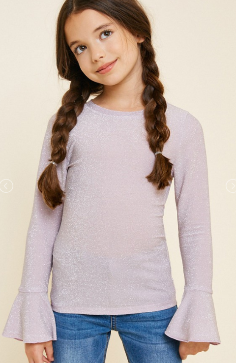 Girls Lavender Shirt