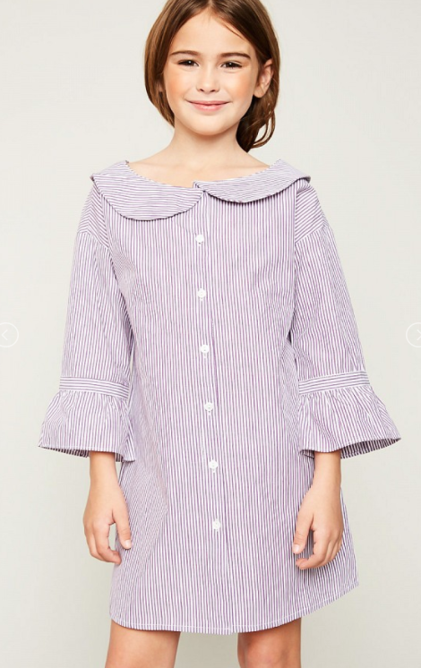 Hayden Stripe Doll Dress