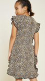 Hayden Girls Leopard Dress - Shoppe3130