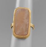 Semi Precious Adjustable Rings - Shoppe3130
