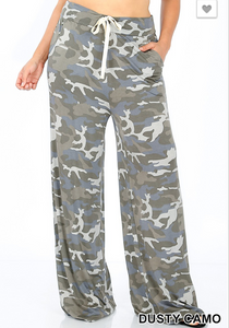 Dusty Camo Lounge Pants - Shoppe3130