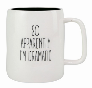 So Apparently I'm Dramatic Mug - Shoppe3130