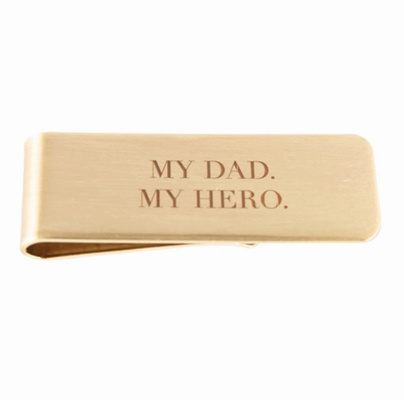 My Dad My Hero Money Clip - Shoppe3130
