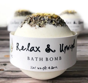 Relax and Unwind Bath Bomb - Shoppe3130