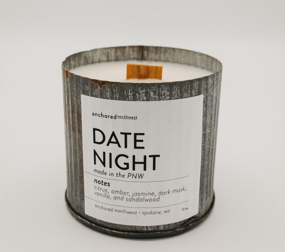 Date Night Candle Anchored Northwest - Shoppe3130