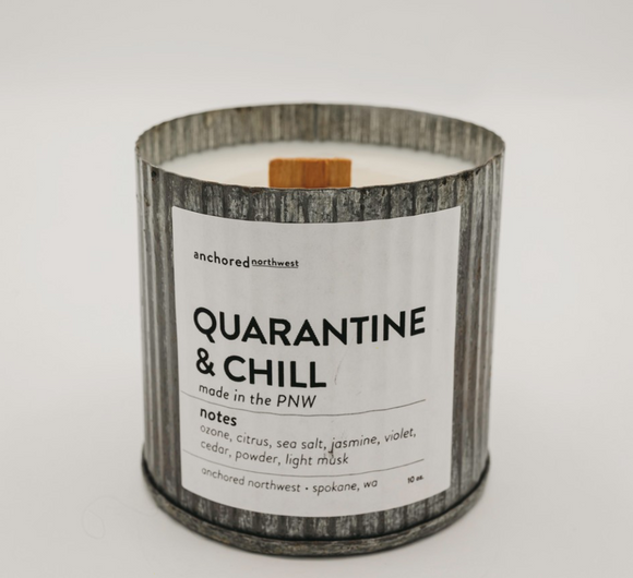 Quarantine & Chill Candle - Shoppe3130