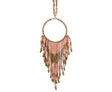 Seed Bead Dream Catcher Necklace - Shoppe3130