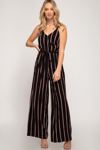 Game On Wide Leg Jumpsuit - Shoppe3130