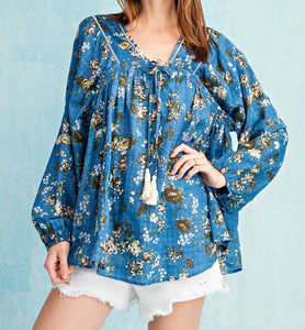 Baby Blues Top - Shoppe3130