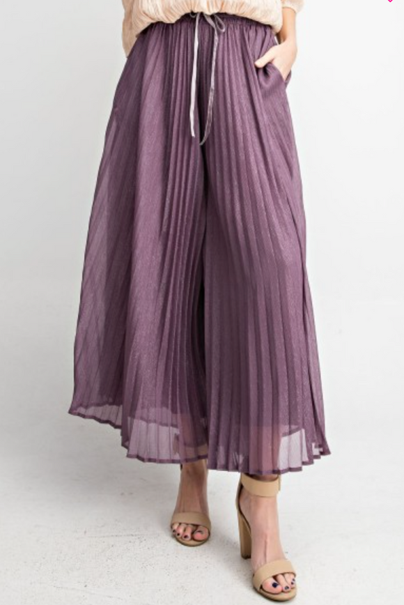 Plum Party Pants - Shoppe3130