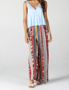 Aztec Dreams Wide Leg Pant - Shoppe3130