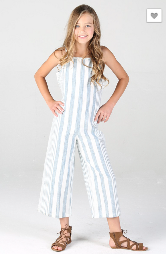 Blue Skies Girls Jumpsuit - Shoppe3130