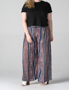 Boho Babe Wide Leg Pants - Shoppe3130