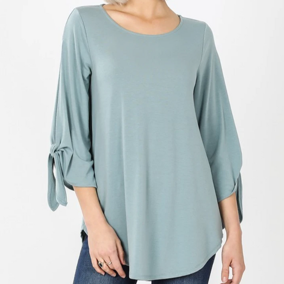 Shoulder Slit Top