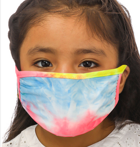 Kids Double Layered Tie-Dye Face Mask