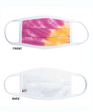 Reversible Double Layered Tie Dye Mask- Adult