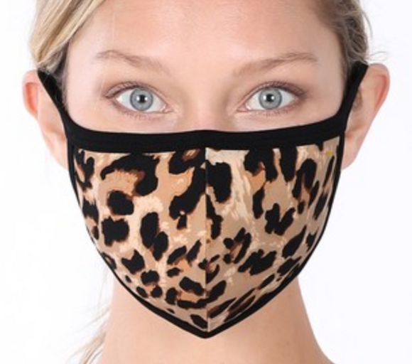 Patterned Adult Cotton Face Masks