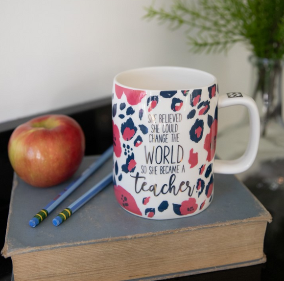 She Became a Teacher Mug