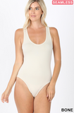 Seamless Racer Back Tank Body Suit