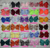 "Girls 6"" Hair Bow"